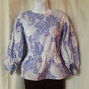 Ann Taylor Factory Floral Top